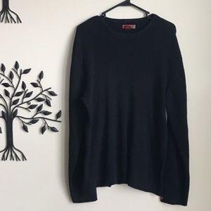 Guess Black Sweater Crewneck size large